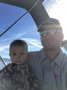 Brady and child