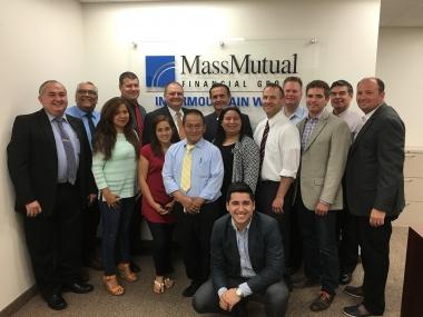 Mass Mutual crew