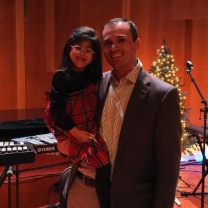Brady and child christmas