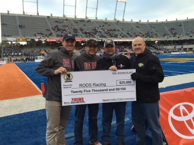 RODS donation check